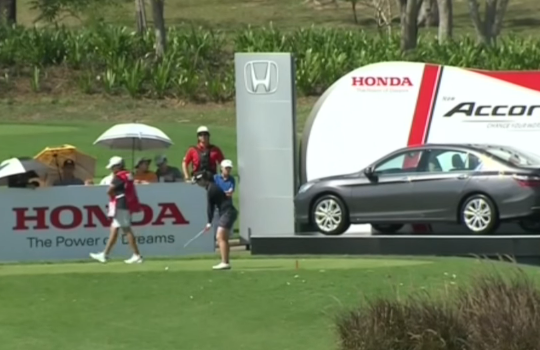 Xi Yu Lin Wins Honda Accord with Amazing Hole-in-one on 16th Friday at 2016 Honda