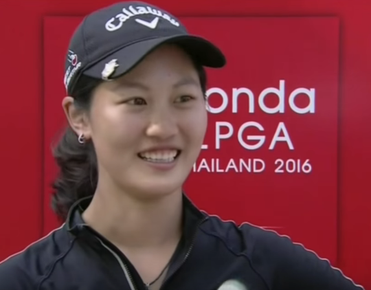 Xi Yu Lin Talks About Her Hole-in-one in Round 2 at 2016 Honda LPGA Thailand
