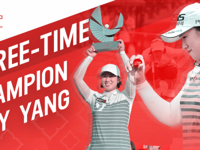 THREE-TIME CHAMPION AMY YANG